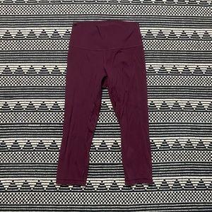 Lululemon Women's Purple Crop Leggings